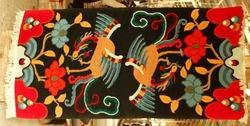 Tibetan Carpet (Two Phoenix)
