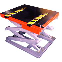 Rail Mounted Power Driven Scissor Lift