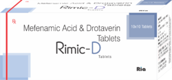 Mefenamic Acid 250mg, Drotaverin 80mg