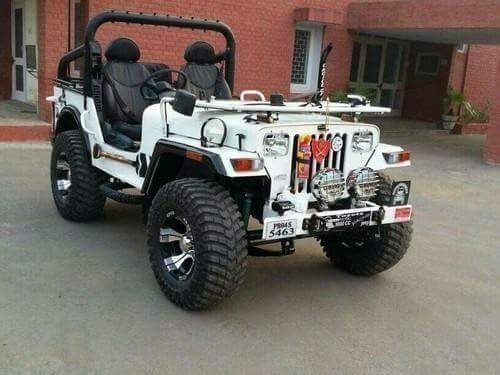Types Of Jeeps >> Stylish Jeep Open Jeeps Manufacturer From Mandi Dabwali
