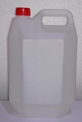5 Litre F Shape Plastic Can