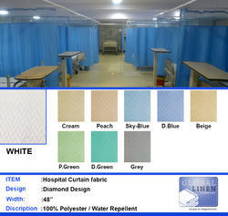 Hospital Curtain Fabric Diamond Design