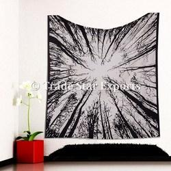 Indian Large Urban Tree Tapestry