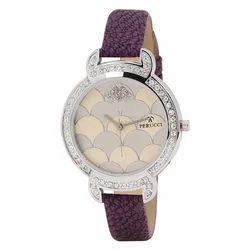 Multicolor Perucci Ladies Diamond Watch