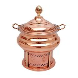 Copper Gujarati Handi Chafing Dishes