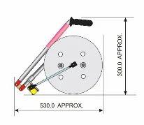 Rail Track Measuring Wheel