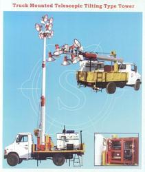 Truck Mounted Telescopic Tower Light