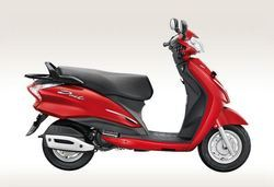 Duet Candy Blazing Red Scooter