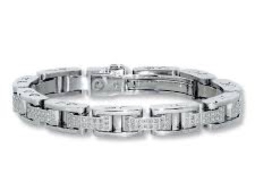 Decorative Diamond Men Bracelet