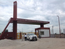 PSTCL Main Gate Construction