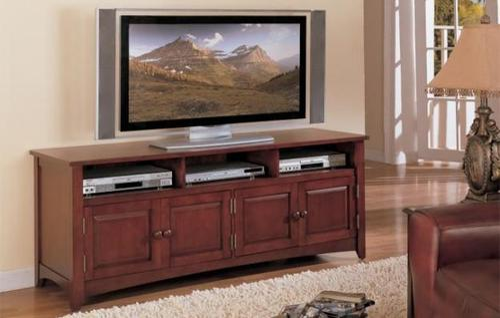 Solid Teak Wooden Tv Stand