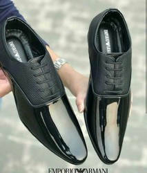 Black Formal And Men Formal Shoes, Size: 6 To 10