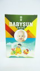 Babysun Drops for Colic Pain & Digestive, Packaging Type: Bottle