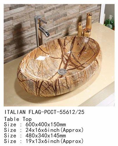 Italian Flag Table Top Basin