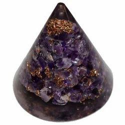 Orgone Cone Of Amethyst