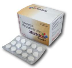 Paracetamol and Metoclopramide Tablets (METCON)