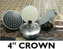 Crown Four Inchi Round Shower