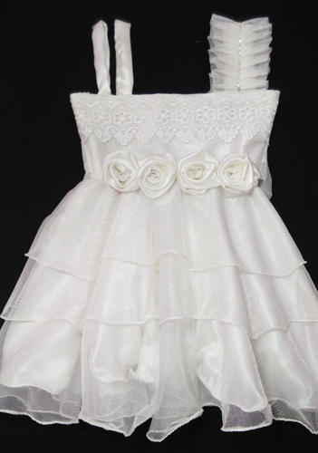 3a3bc37c616 Party Wear Baby Frock - Christmas white ( 2 - 3 years ) at Rs 1050 ...
