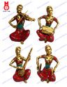 Musical Lady Set Statues