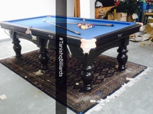 Classic Pool Table At Rs Set Pool Tables ID - Classic billiard table