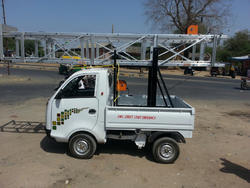 Truck Mounted Aluminium Ladder