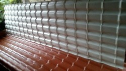 Upvc Spanish Tile Model Roofing Sheets 2.5mm