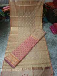 Ladies Unstitched Cotton Silk Suits