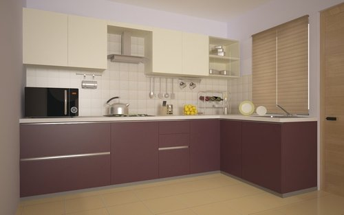 Modular Kitchen L Shaped Modular Kitchen Manufacturer From Jorhat