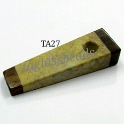 Flat Soap Smoking Pipe
