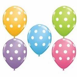 12 Inch Polka Dot Balloon