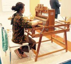 Manual gayatri Table Loom With Folding Stand, Automatic Grade: Manual