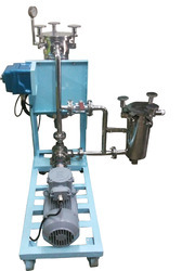 Stainless Steel Paint Filter Machine With Prefilter Unit