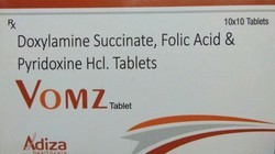 Doxylamine Succinate Pyridoxine Folic Acid Tablet