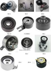 Kingtec Timing Tensioners / Fan Belt Adjusters / Pulley's