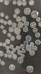 Round Cut Polished Diamonds