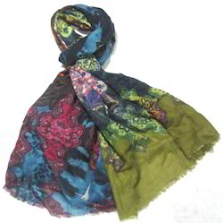 Digital Printed Winter Scarf