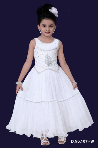 e15e6ad63b8 Christmas Special Dresses - Long Kids Gown Exporter from Mumbai