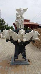 Rms Stonex Creamy Marble Fountain