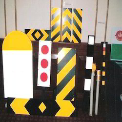 Hazard Marker for Hill Road