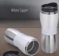 White Sipper Bottle