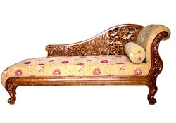 Couch With Fine Carving