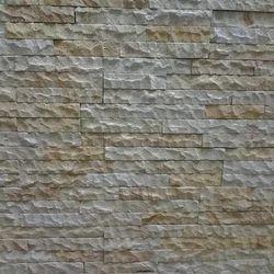 Teak Hand Split Stacking Mosaic Tile