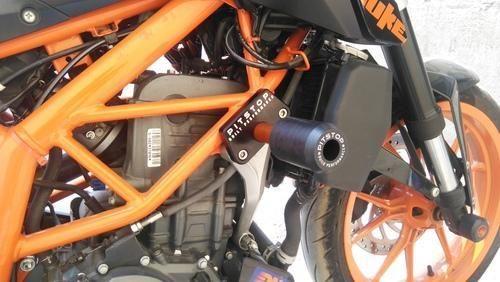 ktm duke 200/390 frame slider at rs 3500 /set | motorbike