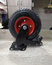 8 Inches Rubber Grip Caster Wheel