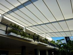Fabric Retractable Awnings