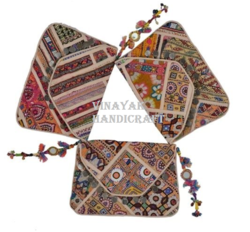 Handmade Antique Banjara Clutch Bag