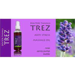 Doctor Thangs Trez Anti Stress Massage Oil, Packaging Type: Plastic Bottle, for Clinical