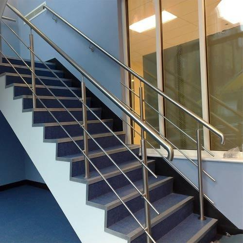 Stainless Steel Staircase Railing   SS Staircase Railing Manufacturer From  Pune
