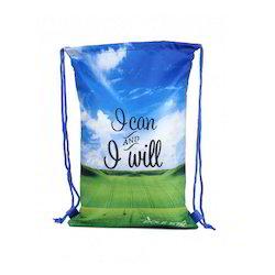 Texture Printed Drawstring Bags