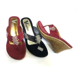 Ladies Polymer Slipper, Size: 5 & 7